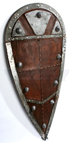 Robin Hood Prince Of Thieves Large Brown Metal Sheild