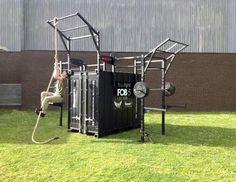BeaverFit Performance Training Lockers - BeaverFit Performance Training Lockers The original patented training lockers made for the military, tailored to fit your outdoor training facility. Please call to order. These products cannot be purchased online. Outdoor Gym, Outdoor Workouts, Outdoor Fitness, Gym Resistance Bands, Crossfit Garage Gym, Mini Gym, Backyard Gym, Small Home Gyms, Diy Home Gym