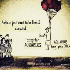 Not always tru... Aquarius Quotes, Aquarius Traits, Zodiac Signs Aquarius, Age Of Aquarius, Aquarius Woman, Leo Zodiac, My Zodiac Sign, Gemini Rising, My Star Sign