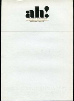 Tom Carnase - Membrete - información impresa de ante mano en el papel de carta y/o sobres