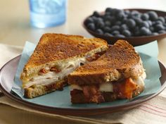 Toasted Grilled Turkey, Bacon and Swiss Sandwich | http://www.bettycrocker.com/recipes/grilled-turkey-bacon-and-swiss-sandwich/446d11f6-d618-4fdc-8de3-bc2f0f5721af