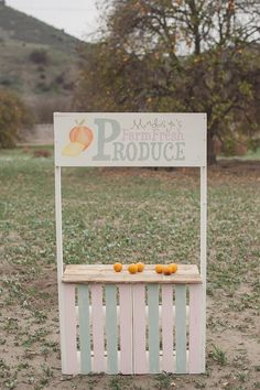 NOW AVAILABLE!!! Customizable Lemonade Stand Produce Stand by ShopSimplyShabby, $125.00