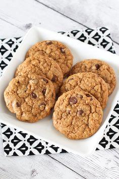 gluten free vegan soft chocolate chip cookies