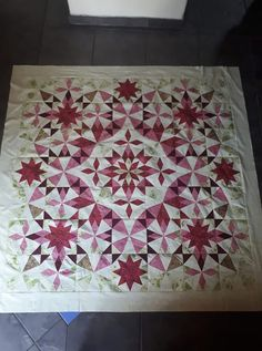 Longarm Quilting, Quilting Tips, Quilting Projects, Quilting Designs, Star Patterns, Craft Patterns, Quilt Patterns, Laundry Basket Quilts, Kaleidoscope Quilt