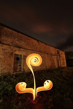 Geek Art Gallery: Photography: Light Graffiti