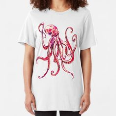 Artists-shop Shop | Redbubble Pulp Fiction Shirt, Coconut Octopus, Sleep Band, Colorful Jellyfish, Tentacle, Artists, T Shirts For Women, Mens Tops, Shopping