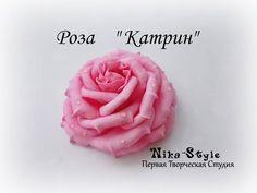 (7) Как сделать Розу и Бутон Розы из Фоамирана.  МК с Выкройками. / Foam rose - YouTube