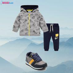 Descoperă această ținută sport foarte cool 💜 pentru băieți ce îl va face pe copilul tău să se simtă foarte bine în timp ce face activități fizice în aer liber!  Coduri prduse: 2878TI18GRI2, 44805TI17BLM  #marabukids #mayoral #tinutazilei Sneakers, Shoes, Fashion, Tennis, Moda, Slippers, Zapatos, Shoes Outlet, Fashion Styles