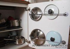 Pots & Pans Lid Storage