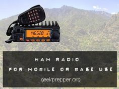 Are you ready to communicate if phones stop working? Do you have HAM radio gear? Is that gear adaptable for use in  base operations and mobile ops?