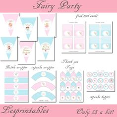 design a fairy party printable kit Fairy Birthday Party, Birthday Parties, Tooth Fairy, Party Printables, Shopping Mall, Best Part Of Me, Shower Ideas, Digital Marketing, Party Ideas