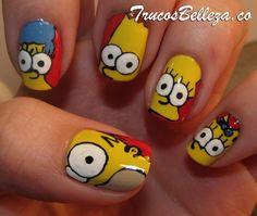 Uñas De Los Simpson