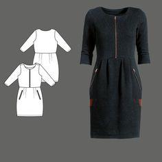 Kleid Stoff & Stil