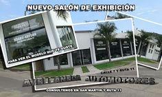 Diseño pedido por Avellaneda Automotores, para presentar su nuevo local de exhibición.