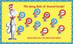 Dr. Seuss Classroom Helper and Classroom Management Bulletin Board Idea