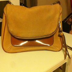 Aimee Pre loved 100% leather Crossbody bag leather is very soft long strap the back of bag is discolored from jeans overall great condition good leather Aimee Kestenberg Bags Crossbody Bags
