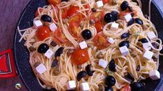 Espaguetis a la griega