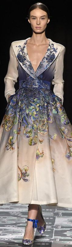 Beautiful detail on this coat dress