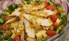 Sałatka mistrzów Gym Food, Polish Recipes, Polish Food, Appetisers, Potato Salad, Food And Drink, Lunch, Bread, Meals