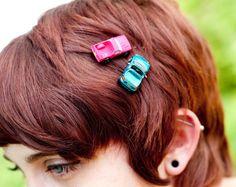 Upcycled Fun MicroBow Bobbypins/ Hair Pins!