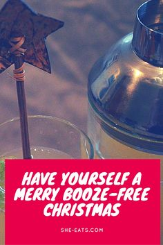 Have yourself a merry booze free Christmas (Easter, Birthday Party or any other celebration!) Alcohol free / party drinks / mocktails / soft drinks / coffee