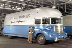 General Motors Art Deco Bus