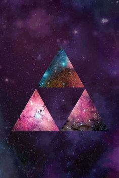 Poster - Triforce Galaxy