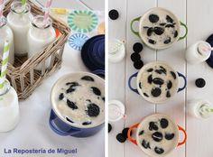 Rice Pudding w/ Oreo Cookies