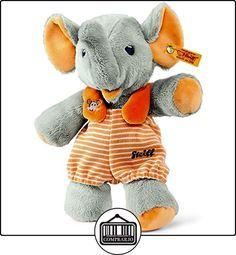 Steiff Trampili elefante (Gris/Naranja)  ✿ Regalos para recién nacidos - Bebes ✿ ▬► Ver oferta: http://comprar.io/goto/B0116MAXCK