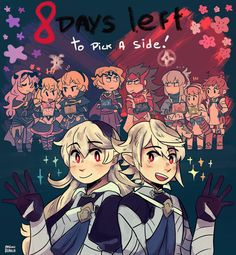 ✿Mimi's art blargh✿ - fates-count:   8 days left by mimiblargh ✦ twitter