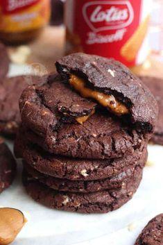 Biscoff Recipes, Nutella Recipes, Fudge Recipes, Baking Recipes, Cookie Recipes, Dessert Recipes, Cookie Flavors, Baking Ideas, Cheesecake Recipes