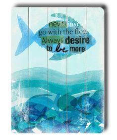 """Be more"" ocean-theme nursery"