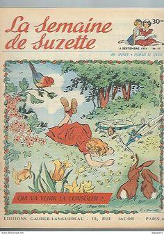 Illustration Alain d'Orange; La Semaine de Suzette