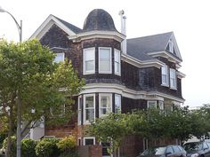 shingle-style house with cupola    Upper Terrace and Clifford Street  San Francisco