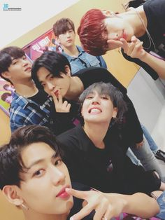 Hahahha my boys! Youngjae, Bambam, Got7 Jb, Got7 Mark, Kim Yugyeom, Mark Tuan, Mark Jackson, Got7 Jackson, Jackson Wang
