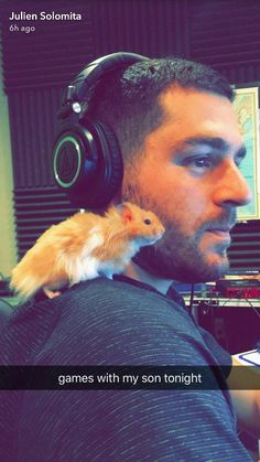 Julien Solomita and his son Ad