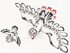 - Rufflet pokemon - Tribal Braviary And Rufflet by =neodragonarts on deviantART Tribal Pokemon, Pokemon Fan, Draw Pokemon, Random Pokemon, Charmander, Pikachu, Black Iris, Blue Bodies, Small Birds