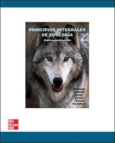 Principios integrales de zoología / Cleveland P. Hickman ... [et al.]