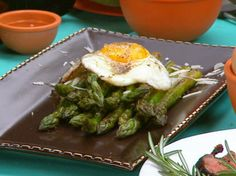 the chew | Recipe  | Mario Batali's Asparagus Milanese