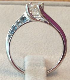 Unusual engagement ring commission