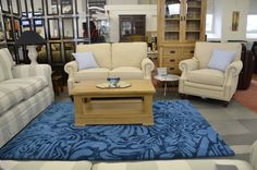 Fabric Sofas & Suites : York 2 Seater Linen Sofa and Armchair