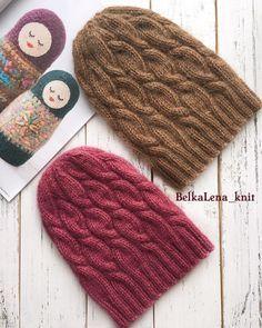 """149 Likes, 1 Comments - ВЯЗАНЫЕ ШАПКИСНУДЫ (@belkalena_knit) on Instagram: """"Эти тепленькие красавицы согреют вас холодной осенью и зимой ! Мягкие и пушистые ! Прекрасно…"""""""