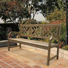 Renaissance Outdoor Reclaimed Hardwood Bench
