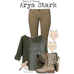 """Arya Stark"" by charlizard on Polyvore"