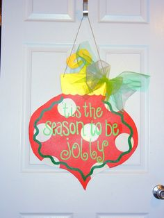 Christmas Sayings On Wood | Christmas Funky Ornament Wooden Door Hanger - ... | Christmas: Signs ...
