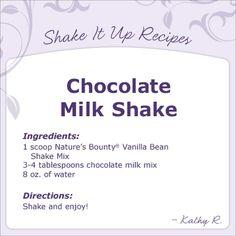 Try this yummy Shake recipe!