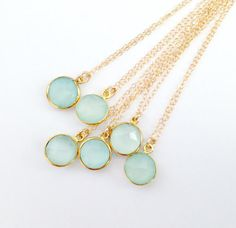 This elegant aqua necklace. | 26 Enchanting Gemstone Accessories You Must Buy