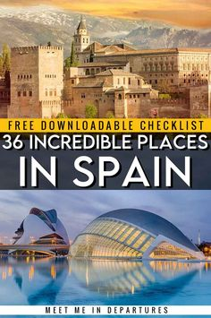 Incredible Landmarks in Spain to add to your Spanish Bucket List | Spain Landmarks | Spain Bucket List | Must See in Spain | Best things to do in Spain | Visit Spain | Spanish Bucket List | Famous Spanish Landmarks | Things to see in Spain | Barcelona Bucket List | Seville Bucket List | Spain Checklist | Where to go in Spain | What to see in Spain | Visiting Spain | Spain Itinerary | Planning a trip to Spain | Spain Aesthetic #Spain #Europe #VisitSpain #Iberia European Travel Tips, European Vacation, Top Cities In Spain, Oregon, Arizona, Bag Essentials, Lds, Spain Travel Guide, Trinidad