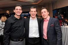 """Andrew Ferrence and Brad Marchand at Boston Bruins Foundation """"Casino Night"""" 2011 Brad Marchand, Casino Night, Boston Bruins, Nhl, Foundation, Foundation Series"""