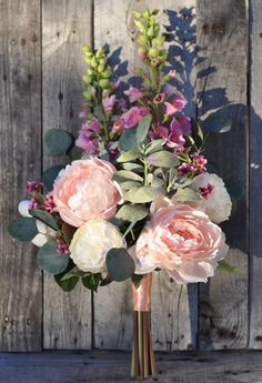 Garden inspired faux flower  bouquets shipping worldwide  from Holly's Flower Shoppe on Etsy